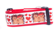 Adorable dog collar for large dog.