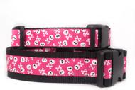 Girl Pirate dog collar