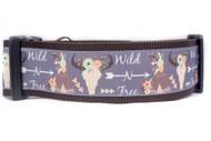 Bohemian dog collar