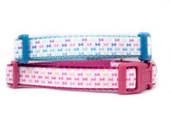 Bow dog collar
