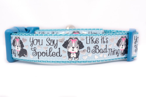 Spoiled dog collar