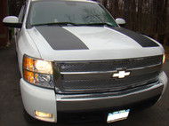 Hood Scoop Decal Stripes - 07-13 Silverado