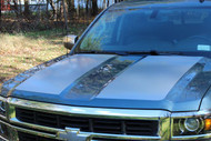 Pace Truck Style Rally Stripe Kit - 2014-2015 Silverado