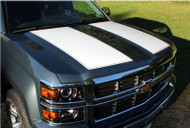 Rally Edition Stripes For 2014-2015 Silverado 1500 & 2015-2016 Silverado 2500HD, 3500HD