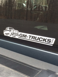 GM-Trucks.com Decals