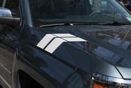 Hash Mark Decal Stripes For 2014-2015 Chevrolet Silverado 1500