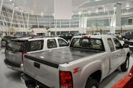 1988-2013 Silverado/Sierra Hard Folding Tonneau Cover (8' Bed) | BAKFlip HD