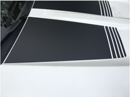 Hood Recess Insert Stripes for 2016 - 2017 Chevrolet Silverado