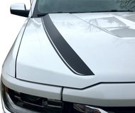 Hood Spear Stripes 2016 to 2017 Chevrolet Silverado 1500