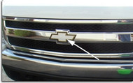 Front and Rear Bowtie Overlay Decals For Silverado, Tahoe, Suburban, Avalanche