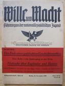 ssb066 - WILLE UND MACHT - HJ Fuehrer magazine 15th November 1939