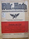 ssb067 - WILLE UND MACHT - HJ Fuehrer magazine 15th December 1939