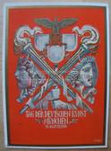 opc364 - Tag der deutschen Kunst in Munich (national German Art Exhibition) in 1939 propaganda postcard