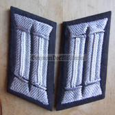 sbbs013 - 2 - pair of NVA Officer Parade Uniform embroidered Collar Tabs