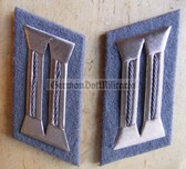 sbbs012 - 2 - pair of Prison Service Strafvollzug non-Officer Uniform Collar Tabs