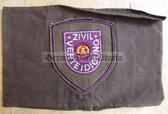 wo046 - 4 - ZV ZIVILVERTEIDIGUNG - Civil Defence armband