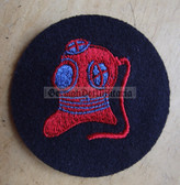 om217 - Volksmarine Diver Specialist Sleeve Patch in blue for EM & NCO