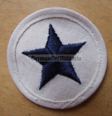 om215 - 2 - Volksmarine Nautical Service Specialist Sleeve Patch for EM - white