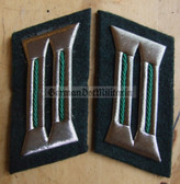 sbbs015 - 23 - Volkspolizei Police non-officer Collar Tabs - Dress Uniform