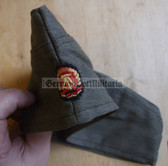wo042 - 9 - East German ZV Zivilverteidigung Civil Defence overseas cap Schiffchen - different sizes available