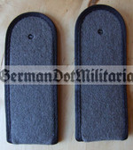 sblab001 - 11 - SOLDAT- PIONIERE - Army Engineers - pair of shoulder boards