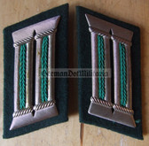 sbbs025 - Volkspolizei Police officer Collar Tabs - Dress Uniform