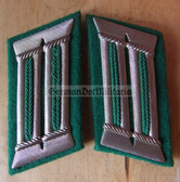 sbbs023 - BePo Bereitschaftspolizei Riot Police officer Collar Tabs - Dress Uniform