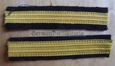 om635 - 2 - Volksmarine - Unterleutnant Officer Sleeve rank bands - pair