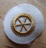 om674 - 2 - Volksmarine Technical Specialist Sleeve Patch for Officers - white