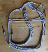 wo302 - 2 - NVA Army officer aiguillette Affenschaukel Achselschnur - parade uniform lanyard