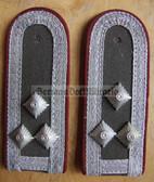 sbmfs008 - STABSFELDWEBEL - Staatssicherheit MfS Wachregiment - State Secret Police - pair of shoulder boards