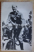 wpc426 - Wehrmacht soldier on bike and with K98 rifle - dated August 1939