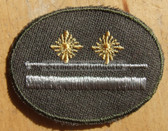 sbutvc022 - 2 - FELDDIENST UTV LEUTNANT - cap insignia - all branches of the army and border guards