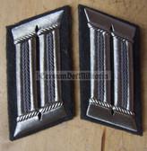 sbbs033 - NVA Luftverteidigung Air Defence officer Collar Tabs - Dress Uniform