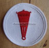 om686 - Volksmarine Sperrwaffen Mine laying Specialist Sleeve Patch for EM & NCO