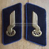 sbbs032 - DR Deutsche Reichsbahn Engineers Collar Tabs