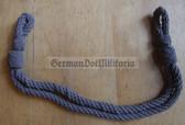 om720 - 2 - grey chin strap cord for SV Strafvollzug Prison Service non-officer visors