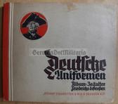 cig025 - DEUTSCHE UNIFORMEN - SA STURM ZIGARETTEN - German cigarette card collector book about 18th century uniforms