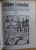 ob004 - FACSIMILE QUERSCHNITT VOELKISCHER BEOBACHTER - The best from the official NSDAP newspaper