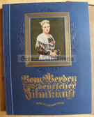 cig024 - VOM WERDEN DEUTSCHER FILMKUNST - DER STUMME FILM - German Silent Movies - German cigarette card collection book from 1935