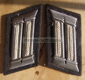 sbbs039 - NVA Army officer Collar Tabs - Dress Uniform