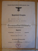 od007 - lot of 1939 to 1941 Electrical Engineering College certificates to the same man