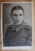 wpc471 - Wehrmacht soldier Studio Portait Photo