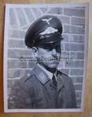 lwpc003 - Luftwaffe soldier with visor hat Portrait photo