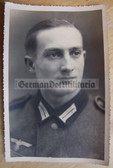 wpc476 - Wehrmacht soldier studio portrait photo - dated 1942