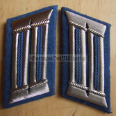 sbbs040 - Transportpolizei TraPo Transport Police officer Collar Tabs - Dress Uniform