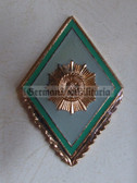 om012 - 11 - VP Volkspolizei Police Officer College Degree Badge  - Academy Graduate