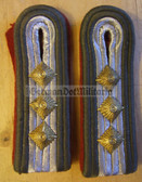 sblar013 - STABSFAEHNRICH WARRANT OFFICER - Artillerie - Artillery - pair of shoulder boards