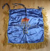 oo016 - embroidered trumpet banner flag JUNGE PIONIERE JP