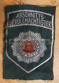 om088- 4 - ABSCHNITTSBEVOLMAECHTIGTER SLEEVE PATCH - Volkspolizei VP VoPo